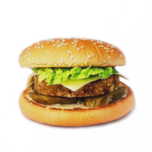 бургер с котлетой сочной (свинина, курица)