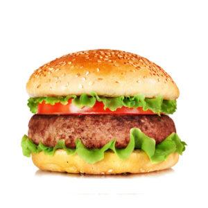 бургер с котлетой из индейки
